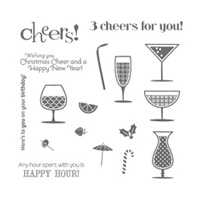 Happy Hour Clear Stamp Set