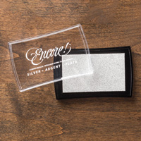 Metallic Silver Encore Pad