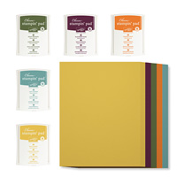 """2014-2016 In Color 8-1/2"""" X 11"""" Cardstock And Classic Ink Pads Kit"""