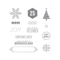 Project Life December Wonder Photopolymer Stamp Set