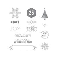 Project Life December Wonder Photopolymer Stamp Set