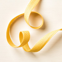 "Hello Honey 5/8"" (1.6 Cm) Quilted Cotton Ribbon"